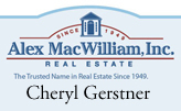 Cheryl Gerstner, Alex MacWilliam, Inc.